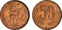 Spain, 1937, 50 Centimos, BU
