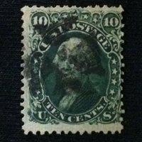 U.S. SC #68a Used 1861
