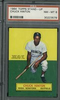 1964 Topps Stand-Up Chuck Hinton PSA 8