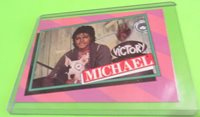 MICHAEL JACKSON (1984) TRADING CARD # 25 MJJ Productions Mint Free Shipping