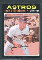 1971 JACK BILLINGHAM OPC #162 O PEE CHEE ASTROS PARTIAL SET BREAK #2563