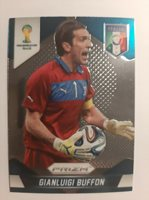 2014 PRIZM WORLD CUP SOCCER GIANLUIGI BUFFON BASE CARD # 123 ITALY