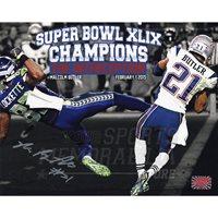 Malcolm Butler New England Patriots Signed Autographed The Interception Super Bowl Spotlight 8x10