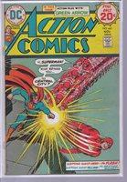 ACTION COMICS 441 Grell art on Green Arrow continues; NOVEMBER, 1974.
