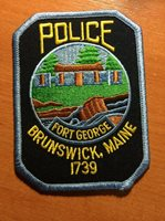 PATCH POLICE BRUNSWICK - MAINE ME state