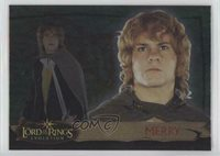 2006 Topps Lord of the Rings Evolution Merry #32 5f7