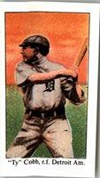 (50) TY COBB 1909 Tobacco Card E90 Reprints TIGERS