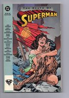 DC The Death of Superman TPB (1993) First Printing Mid Grade