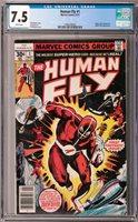 Human Fly #1 CGC 7.5 (Sep 1977, Marvel) Al Milgrom cover, Spider-Man app.