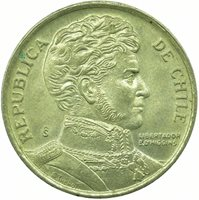 COIN / CHILE / 10 PESOS 1996 UNC #WT23705