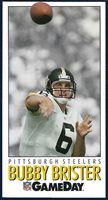 1992 NFL Game Day #219 Bubby Brister (Pittsburgh Steelers) Team Players