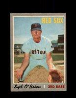 1970 SYD O'BRIEN OPC #163 O-PEE-CHEE RED SOX *R5685