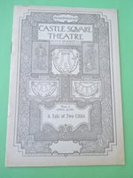 April 3 - 1905 - Castle Square Theatre Program - A Tale of Two Cities