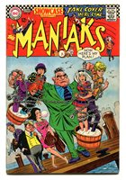 SHOWCASE 68 MAY-JUNE 1967; 1st appearance of The Maniaks.
