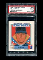 1988 NOLAN RYAN STARTING LINEUP #25 TALKING BASEBALL PSA 9