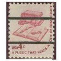 #1585a Public That Reads, Precanceled Lines