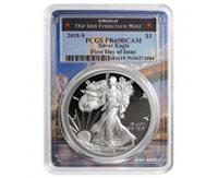 2019-S Proof $1 American Silver Eagle NGC PF69UC FDI San Francisco Core