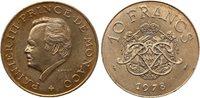 Pièce Monaco 10 Francs Rainier III - Armoiries - 1978