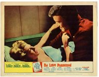 LANA TURNER EFREM ZIMBALIST JR BY LOVE POSSESSED 11X14 LOBBY CARD LC3254