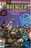 The Avengers King-Size Special Comic Book #7, Marvel Group 1977 NEAR MINT