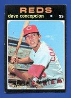 1971 Topps # 14 Dave Concepcion RC - Cincinnati Reds - EX+ Additional ship free