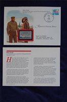 Americas Patriotic Heroes Cover Henry Arnold Sc#799 EE177 World War II Commander