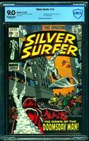 Silver Surfer #13 CBCS VF/NM 9.0 Off White to White Marvel Comics Comic Book