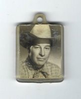 VINTAGE 1950s WESTERN MOVIE STAR WILLIAM ELLIOTT - WYOMING MOVIE PEP CEREAL FOB