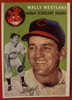 1954 Topps #92 Wally Westlake NM-MT