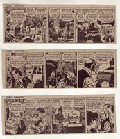 Steve Canyon by Milton Caniff - 20 daily comic strips from Nov./Dec. 1967