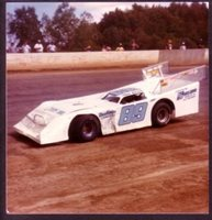 Steve Barnett #89 Late Model Stock Car Racing Photo