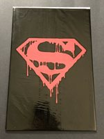 SUPERMAN #75 DEATH OF BLACK BAG UNOPENED DC VF/NM (b)