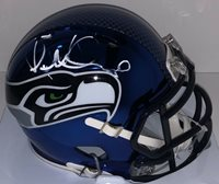 Pete Carroll Signed Autographed Seattle Seahawks Chrome Mini Helmet Psa/Dna