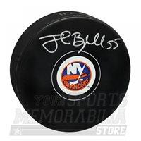 Johnny Boychuk New York Islanders Signed Autographed Islanders Hockey Puck