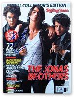 Nick Joe and Kevin Jonas Signed Autographed Rolling Stone Magazine GV862619