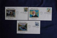 Celebrate the Century 1910's Stamps 3 FDCs Colorano Cachets Sc#3183d-f 01091