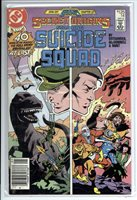 SECRET ORIGINS 14 Newstand Edition; Suicide Squad and Legends spin-off; MAY 1987