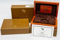 OGP For 2013-W First Spouse Gold Proof $10 - Ellen Wilson - No Coin