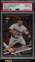 2017 Topps Chrome Update Alex Bregman ROOKIE RC #HMT60 PSA 10 GEM MINT (PWCC)