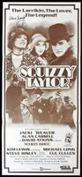 SQUIZZY TAYLOR Original Daybill Movie poster AUTOGRAPH by Steve Bisley