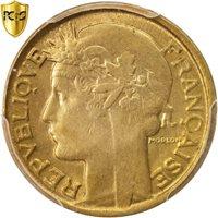 France, Morlon, 50 Centimes, 1939, Beaumont - Le Roger, PCGS, AU58, KM:894.2