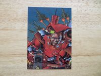 DF, DYNAMIC FORCES COMIC GREATS '98 STAR SLAMMERS CARD # 23 SIGNED WALT SIMONSON