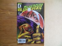 1999 VINTAGE MARVEL KNIGHTS DAREDEVIL # 7 SIGNED BY JIMMY PALMIOTTI WITH POA