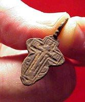 #14625 - Bronze Orthodox Crucifix from Stafford VA