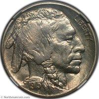 1915-S Eliasberg Buffalo Nickel NGC MS65+ Buffalo Nickel