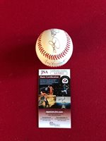 "Pete Rose / Fay Vincent, ""Autographed"" Baseball (JSA) Official MLB Baseball"