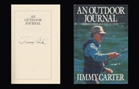JAMES JIMMY CARTER Autographed Inscribed Signed Book An Outdoor Journal