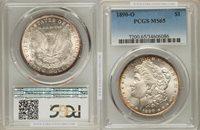 1890-O Morgan Dollar MS65 PCGS