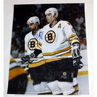 Ray Bourque Boston Bruins Signed Autographed with Bruins Cam Neely 16x20
