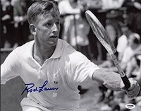 Rod Laver Tennis Autographed 11x14 Photo Signature - PSA/DNA Certified - Celebrity Signed Pictures